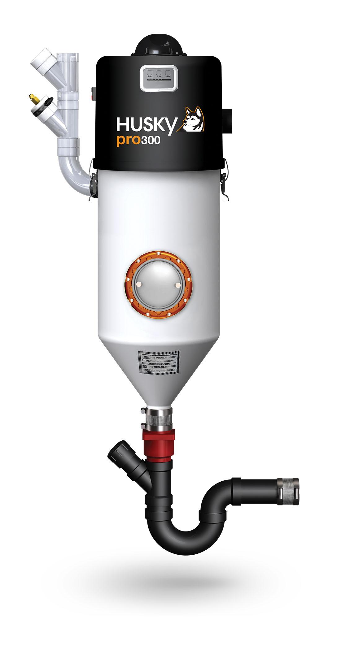 husky suisse » aspirateur central husky pro 300